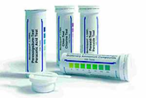 ชุดทดสอบเปอร์อะซิติก แอซิด (Peracetic Acid Test Kit)